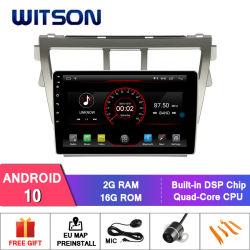 "Witson gran pantalla de 10,2"" de Android 10 radio del coche Toyota Vios 2007-2013"