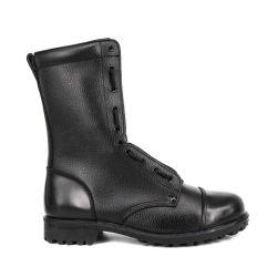 新しい設計穀物の革防水の流行の人の軍 Combat のブーツ