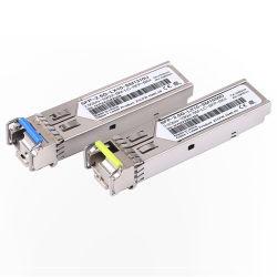 des einzelnen Modus-2.5g bidirektionale Bidi aus optischen Fasernbaugruppe einzelne Faser LC-optische Portbaugruppe SFP-kompatibel mit Huawei Cisco Schaltern