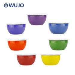 Smalto che serve ciotole di cereali ciotola di conservazione di cibo colore smaltato smalto Ciotola di frutta