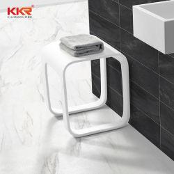 Kingkonree reparabler fester Steinbad-Badezimmer-Zubehör-Prüftisch-Stuhl