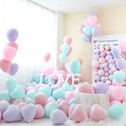 Trendige Dekorative Latexballons mit Herzschmuck für Hochzeitsvorschläge Valentinstag Dekoration
