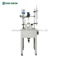 Produtos químicos usados em laboratório de camada única Reactor de vidro com bom preço