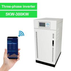 Три этапа солнечной инвертирующий усилитель мощности 10 квт 15квт 20КВТ для солнечной энергии системы генератора