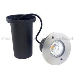 Ссб 6 Вт Светодиодные лампы Inground на открытом воздухе IP65 водонепроницаемый початков фонаря освещения пола утопленной Водонепроницаемый светодиодный фонарь освещения пола