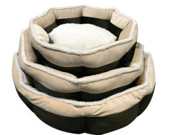 Neues konzipiertes 8-Sided Cuddler Hundehaustier-Bett