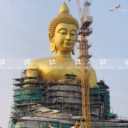 Pan de Oro estatua de Buda de bronce escultura de Shakyamuni