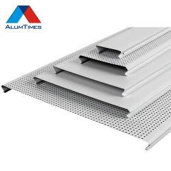 Neues materielles Metallfalsche Aluminiumstreifen-Decke für Innendekoration