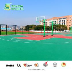 Silicon PU Material Synthetic Basketball Sport Court