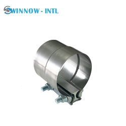 Morsetto di fascia della giuntura di giro del tubo flessibile del metallo per il sistema di scarico