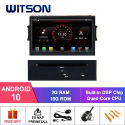 Lettore DVD dell'automobile del Android 10 di Quadrato-Memoria di Witson per le multimedia radiofoniche 2008 di GPS del veicolo dei Nissan Teana