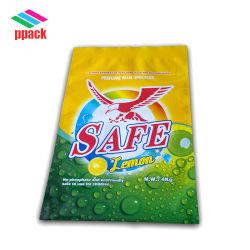 Sacchetto del detersivo di lavanderia della pellicola 4kg della laminazione di Nylon/LDPE fatto nella fabbricazione del pacchetto della Cina