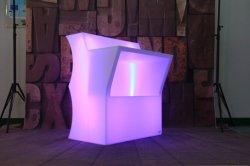 منصة LED بار طاولة ونبيذ منضدة LED