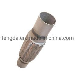 Tuyau flexible de silencieux double tressé en acier inoxydable à bas prix d'échappement flexible