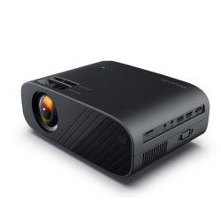 """جهاز عرض صغير الحجم يدعم جهاز العرض المحمول 1920*1080p 170"""" للمنزل مع ذراع تلفزيون LED طويل العمر مع مصباح LED بحجم 40000 ساعة"""