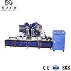 macchina/gruppo di lavoro di montaggio degli accessori per tubi dell'HDPE di 200-450mm che misura la macchina della saldatura per fusione di estremità del montaggio di angolo di Machine/HDPE