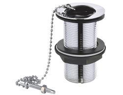 """1""""1/4 UK дизайн всплывающее отходов с резиновой пробки с цепью для Раковина Nduk004"""