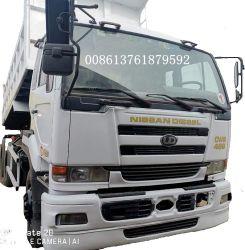 6X4左手駆動機構の日本大型トラックは日産のダンプトラックを使用した