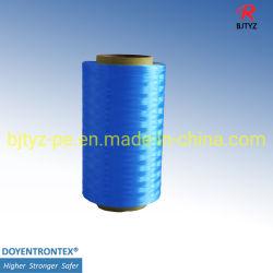 Ultra alto peso molecular de fibra de polietileno para redes-1600D Azul Escuro do UHMWPE