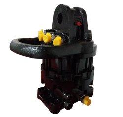 Rotatore idraulico della gru a benna per i collegamenti dell'escavatore e della gru