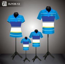 L'impression bon marché de gros Aibort Cute Couple Famille Polo Shirt -Djy20-12