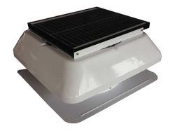 20W 14pouces solaire monté sur le toit mansarde avec ce ventilateur -bouchon carré (SN2013003)