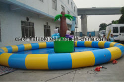 2019 новых продаж ПВХ материал надувной бассейн для детей и детский надувной бассейн с водой