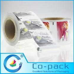 De aluminiumfolie Gelamineerde Film van het Document voor de Verpakking van de Omslag van de Kauwgom