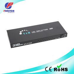 دعم مقسم HDMI 1 في 8 للخارج بدقة 4K 2K 3D
