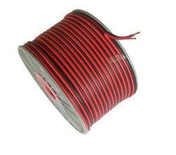 Высокое качество красный и черный кабель динамика из ПВХ