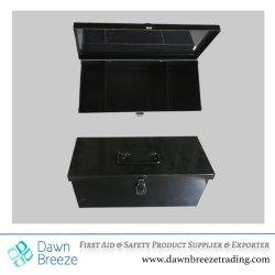 Boîtier métallique robuste boîte à outils de stockage, 3 compartiments