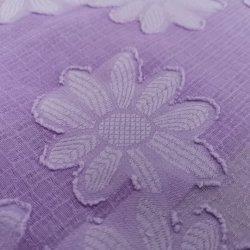 Hübsches Entwurfs-Blumen-Polyester-Chiffon- Jacquardwebstuhl-Gewebe 100%