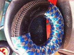 4.00-8 Wheelbarrow pneus e tubos fabricados na China