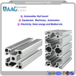 Proveedor chino de perfiles de aluminio Industrial para el marco de la ventana y puerta y pared de cortina