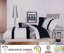 Juego de cama de algodón 100% de la casa de varios tamaños de productos textiles.