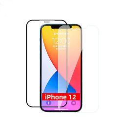 9d a película protectora de telefone móvel do protector de vidro temperado Protetor de Tela proteção máxima para iPhone 12 Mini série Pro Max Protector de ecrã Móvel de Alta Definição