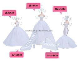 Свадьбу форме белого платья полимера презентационный манекен дисплей кукла диван дисплей