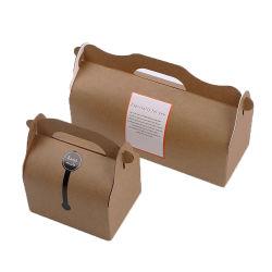 Le recyclage du papier kraft Biscuit Emballage avec poignée