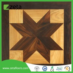 Superfície de textura de madeira com qualidade superior HDF piso laminado telhas