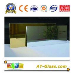 Miroir en aluminium/aluminium verre/miroir avec bord biseauté/C/Chant polonais plat