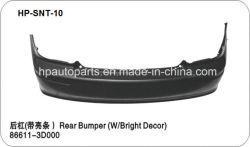 Задний бампер с яркой обстановкой для Hyundai соната