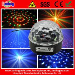 6W de Kristallen bol van Party van de Disco van Beautiful LED Light MP3
