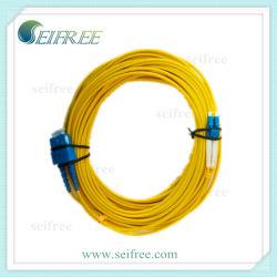 Sm cordon de raccordement à fibre optique duplex câble CATV FTTH (LC-SC)