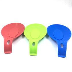 Cuillère reste Pad de silicone résistant à la chaleur spatule Cuisine ustensile de cuisine porte-outil de détenteur de la cuillère de qualité alimentaire