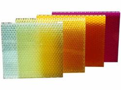 Transmissão de luz do painel composto de favo de mel