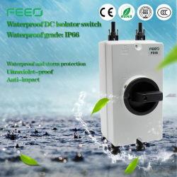 نظام PV الطاقة الكهربائية 16A 3p 600VDC عوازل مفتاح الفصل