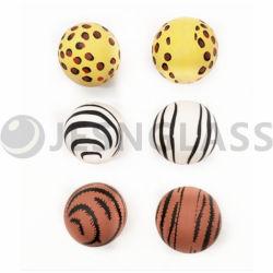 Sfera di salto stampata, sfera di gomma, sfera rimbalzante, usata per il regalo di natale, marchio di adattamento, giocattolo dei bambini