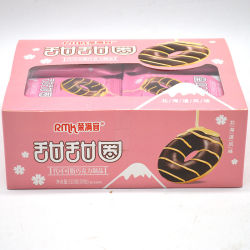Heißer Verkauf Lecker Schokolade Beschichtete Donut Cookies
