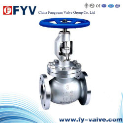 ANSI Flanged Roestvrij staal Globe Valve met Manual Operation