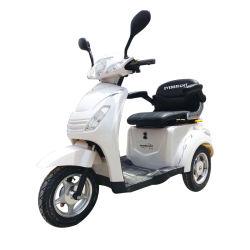 60V500W CEE aprovado Bateria de chumbo-ácido 3 Rodas Triciclo Scooter Eléctrico Motociclo